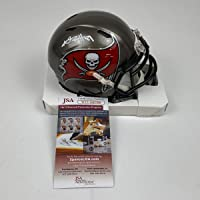 $149 » Autographed/Signed Antonio Brown Tampa Bay Buccaneers Bucs Mini Football Helmet JSA COA
