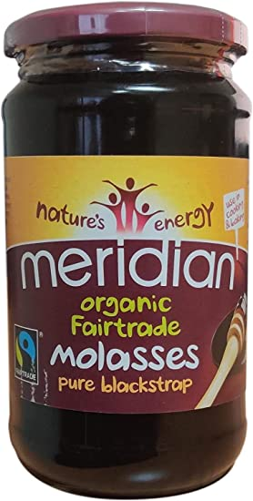 Meridian Organic and Fairtrade Pure Blackstrap Molasses 600g (Pack of 2): Amazon.co.uk: Grocery