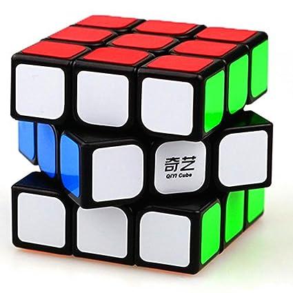 best authentic huge sale cheapest price cuberspeed QiYi Sail 3x3 Black Magic Cube MoFangGe MFG Qihang 3x3x3 Speed  Cube Qiyi Sail W Version 3x3x3 Puzzle