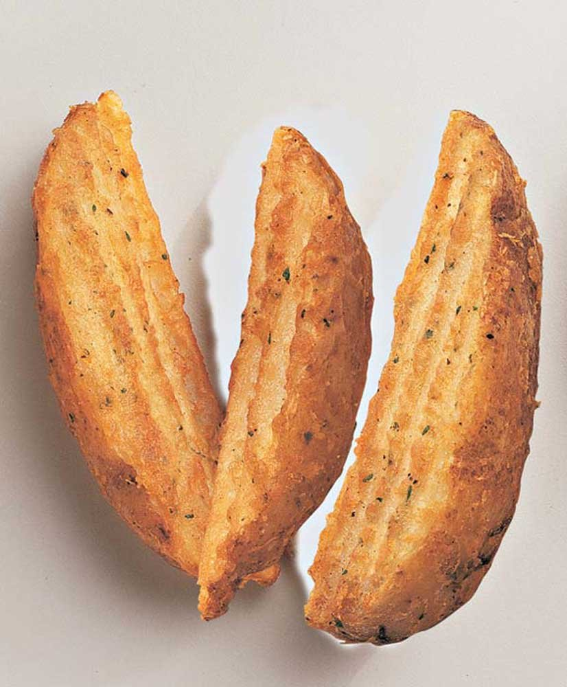 McCain Route 66 Crinkled Cut Wedge Fry - Appetizer, 5 Pound - 6 per case