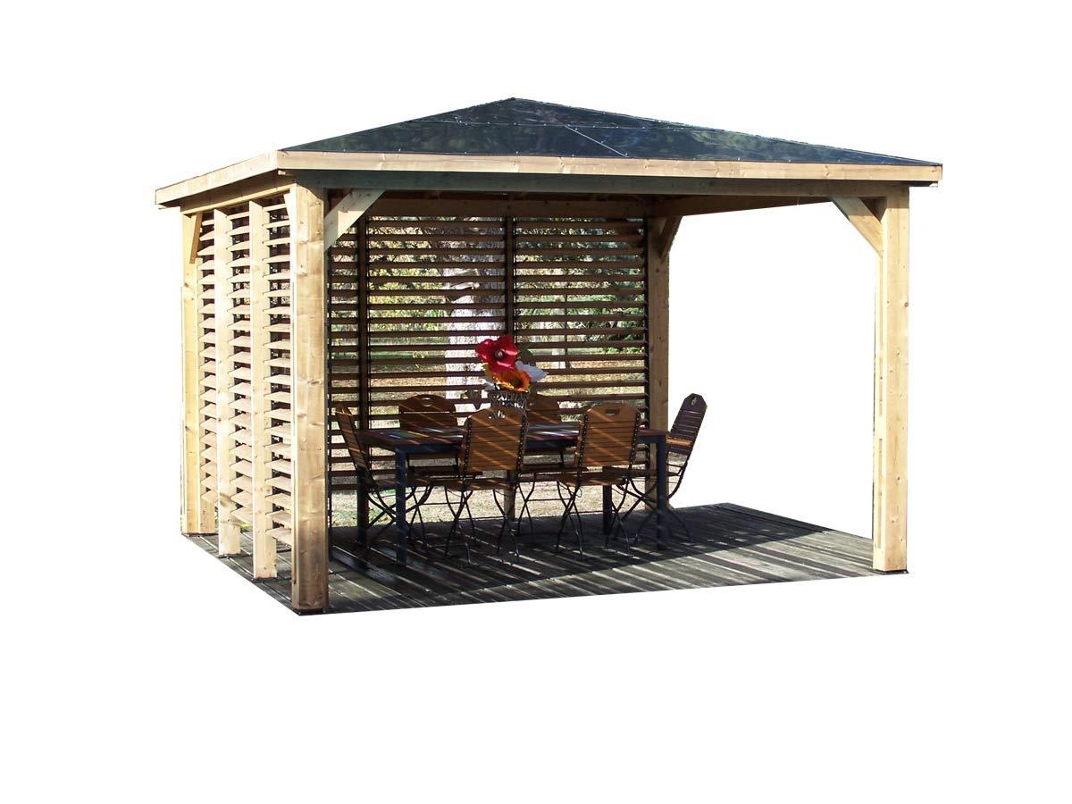 Carport aluminio con techo 1/2 redondo.: Amazon.es: Jardín