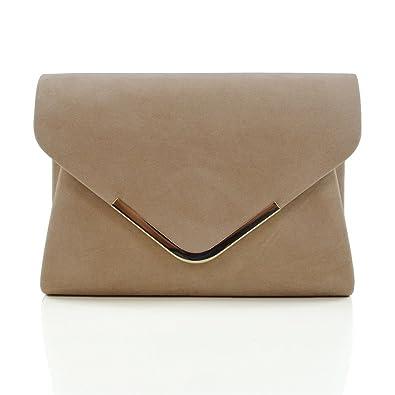 Womens Clutch Bag Envelope Ladies Bridal Bridesmaid Prom Party Evening Handbag