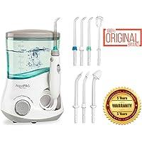 Aquapik 100 - Irrigador dental y Nasal único en el mundo (incluye 7 Boquillas) Recomendado por dentistas y médicos de todo el mundo. Ideal para toda la familia.