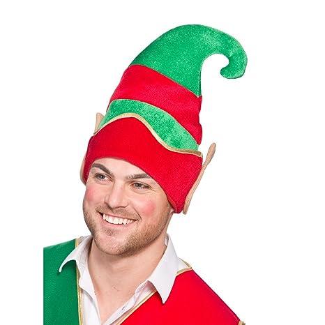 Deluxe elfo cappello con orecchie cappello per presepe natalizio Fancy Dress 0c7c69b1a946