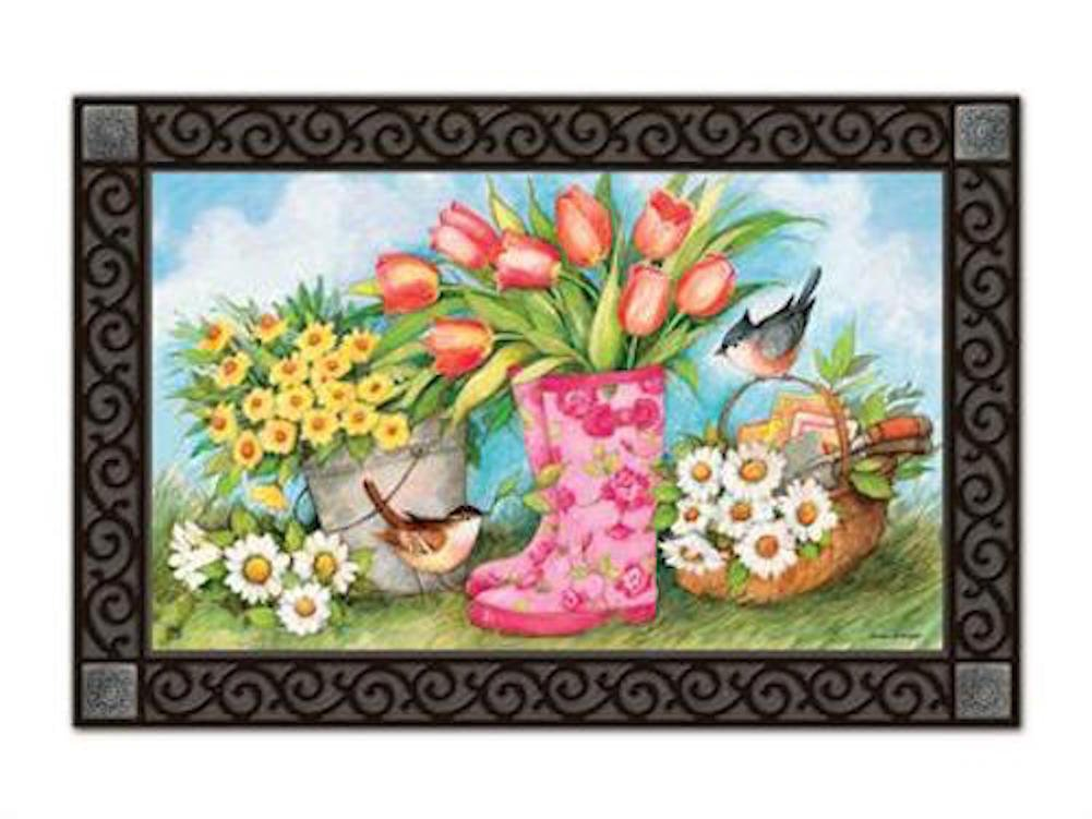 Garden Boots MatMates Doormat  #11104 by MagnetWorks (Image #1)