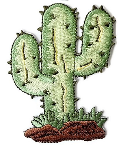 Disney Mix Max Ice (Cactus Iron on Patch Embroidered Sewing for T-shirt, Hat, Jean ,Jacket, Backpacks, Clothing)