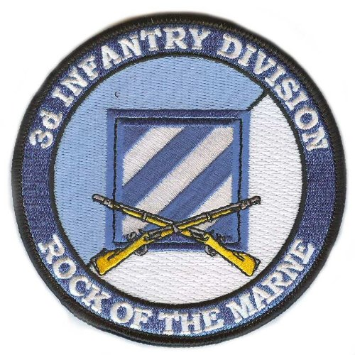 3rd Infantry Division Patch with Rifles (Patch Division 3rd Infantry)