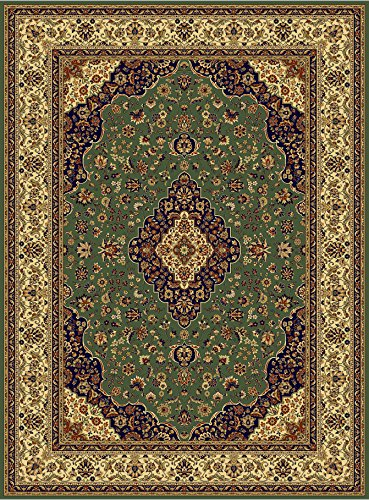 Amazon Com Luxury Silk Area Rugs Green Rug 5x8 Rug Silk