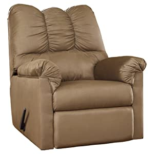 Signature Design by Ashley 7500225 Darcy Rocker Recliner Mocha