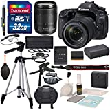 Canon EOS 80D DSLR Camera with EF-S 18-135mm f/3.5-5.6 IS USM Lens and deluxe accessory bundle