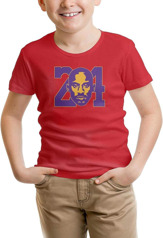 Kids Short Sleeve T-Shirt Sports Mamba Crazy Original Tee for Boys