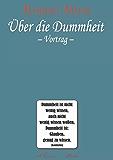 Robert Musil: Über die Dummheit