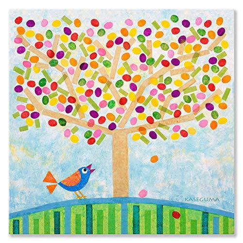 (Oopsy Daisy Canvas Wall Art Jellybean Tree by Gale Kaseguma, 30 by 30-Inch)