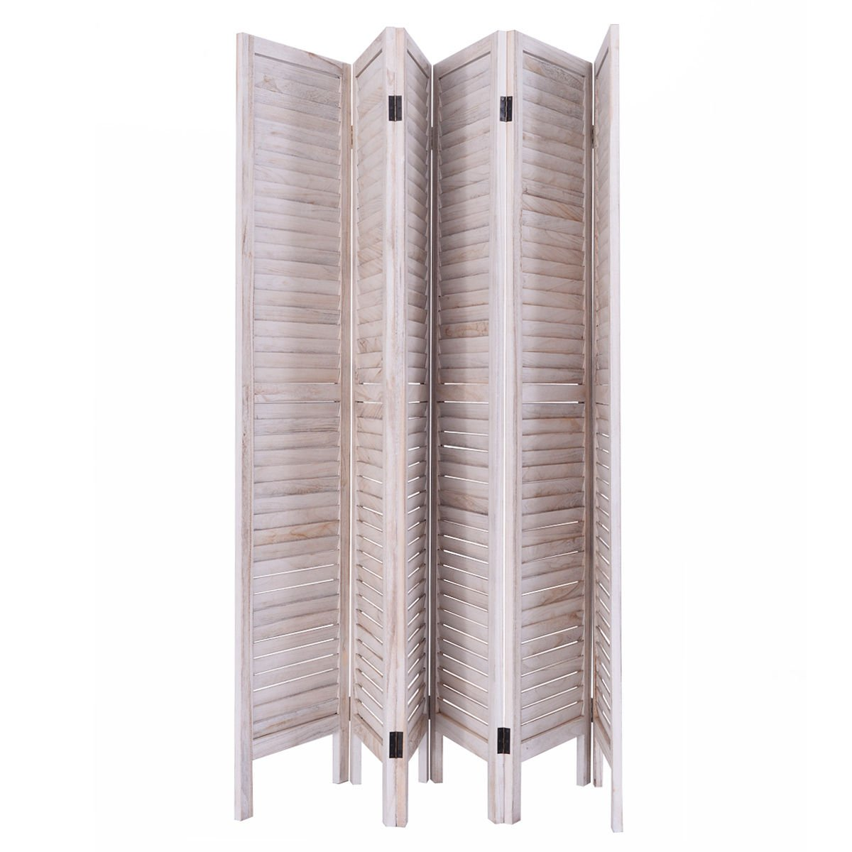 Amazing Amazon.com: Giantex 6 Panel Screen Room Divider Wood Folding Oriental  Freestanding Tall Partition Privacy Screen Room Divider (Natural): Kitchen  U0026 Dining