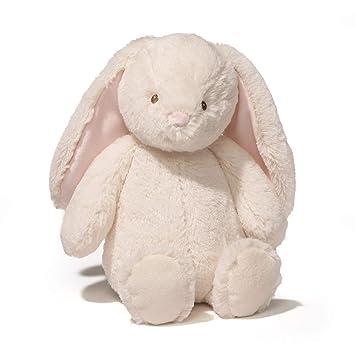 Amazon Com Baby Gund Thistle Bunny Stuffed Animal Plush Cream 13