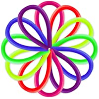 DS. DISTINCTIVE STYLE Stretchy Strings 12 Pieces Colorful Monkey Noodles Sensory Toys