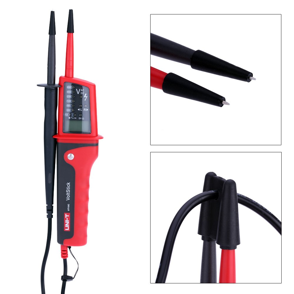 Uni T Ut15c Waterproof Type Voltage Testers 11 Ideal Receptacle Circuit Tester Voltagecontinuity Pricefallscom Business Industry Science