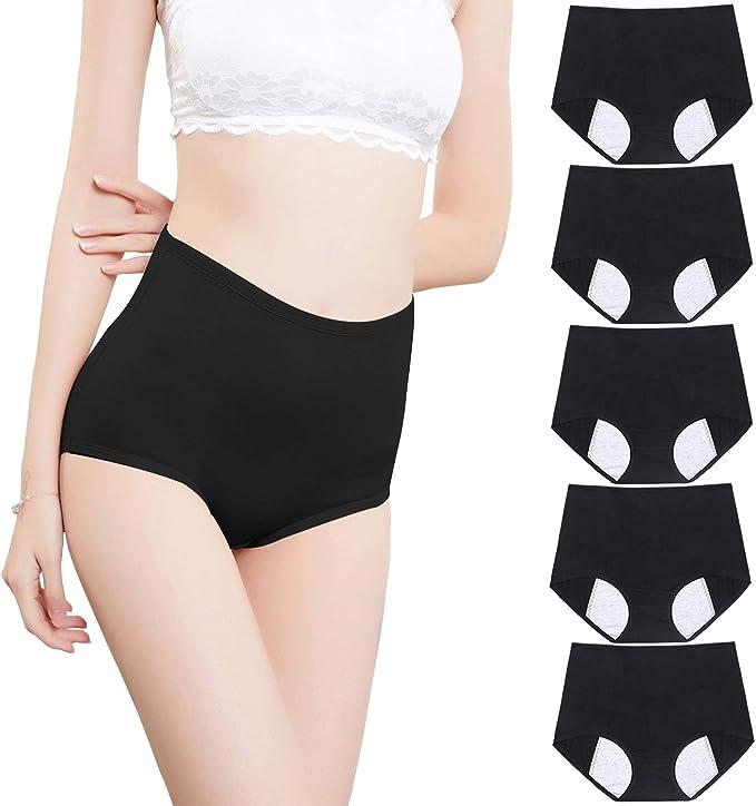 Fulyou Ropa Interior de algodón para Mujer, Braguitas Mentrual Brief, Bragas Hipster para Mujer: Amazon.es: Ropa y accesorios