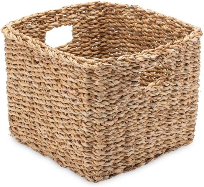 Natur Fair Trade Handarbeit Mini Regalkorb Seegras Eckig