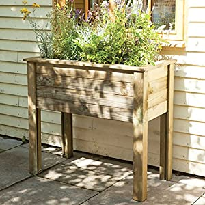 High level Wooden Bamburgh Planter Table Herb Box & High level Wooden Bamburgh Planter Table Herb Box: Amazon.co.uk ... Aboutintivar.Com