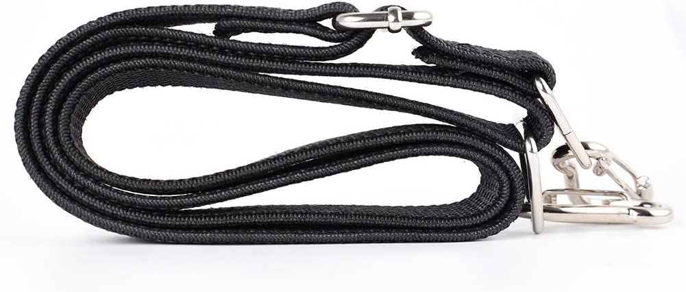 Marcobrothers Flat Bungee Cord,2 Strips 24inches , Black