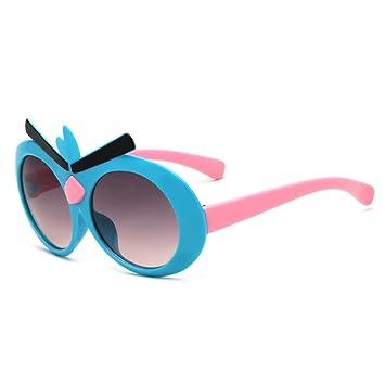 WYFC Sonnenbrille für Kind, Cartoon runde Sonnenbrille für Jungen und Mädchen von 3-12 Jahre alt, zufällige Farbe , boy (color random)