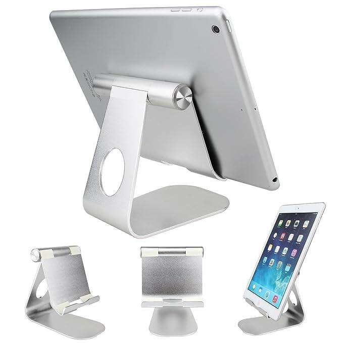 Soporte para tablet, SOONHUA 360 °, soporte de tablet giratorio de ...