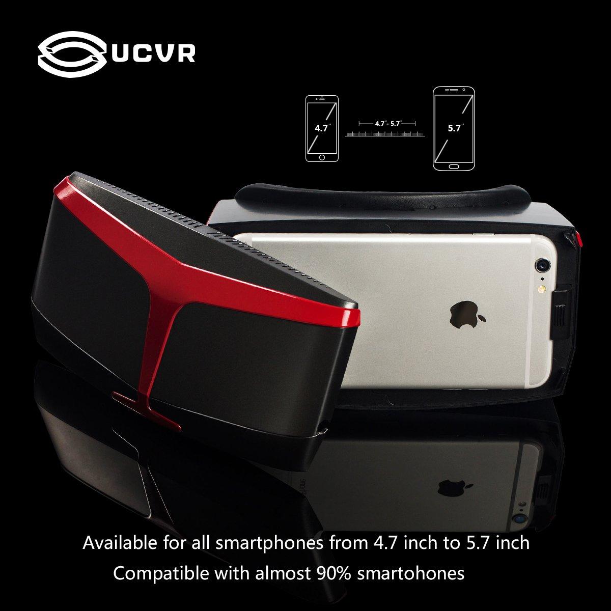 Ucvr 3d Vr Glasses Virtual Reality Headset Goggles Box Hedsset Samsung Kw Electronics