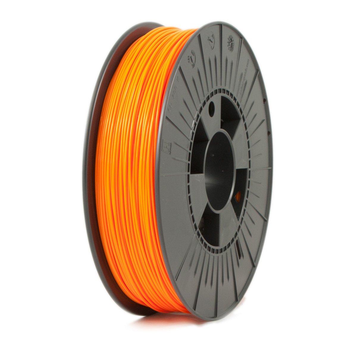 Ice Filaments ICEFIL1PLA112 Filamento PLA, 1,75 mm, 0,75 kg, Naranja
