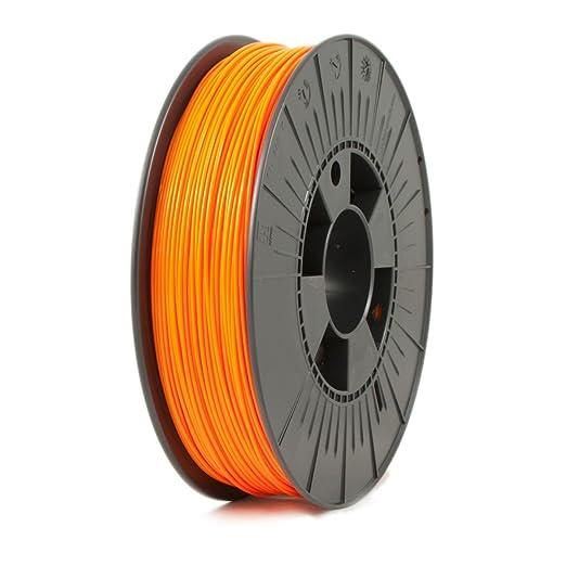 5 opinioni per Ice Filaments ICEFIL1PLA112 Filamento PLA 1.75mm, 0.75kg, Arancio