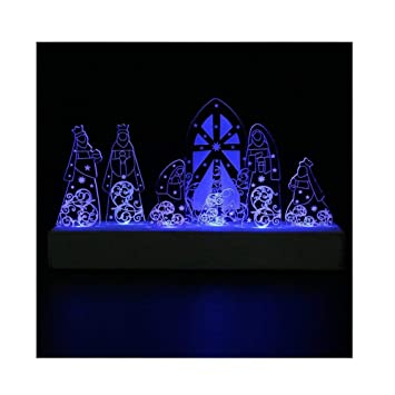 Led System Weihnachtsbeleuchtung.Giftgarden Led Nativity Set Christmas Decoration Holy Family For Christian Catholic Gifts