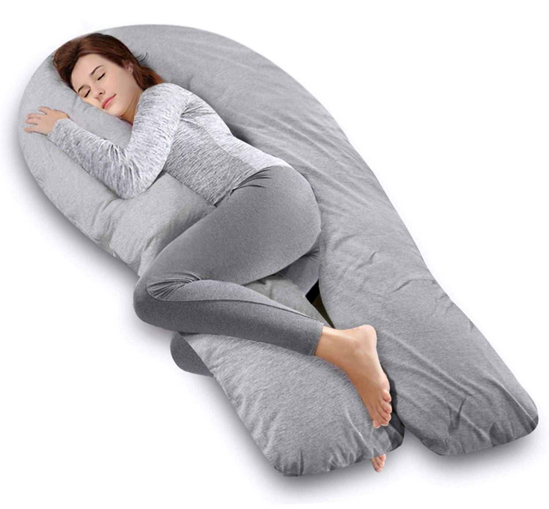 Amazon.com: Ang Qi - Cojín para embarazo, diseño en forma de ...
