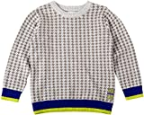 Tuc Tuc Little Boys' Crew-Neck Knit Sweater Urban in Grey 3