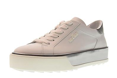 mieux aimé 849a1 fc57b Hogan Chaussures Femme Baskets Basses Plateforme ...