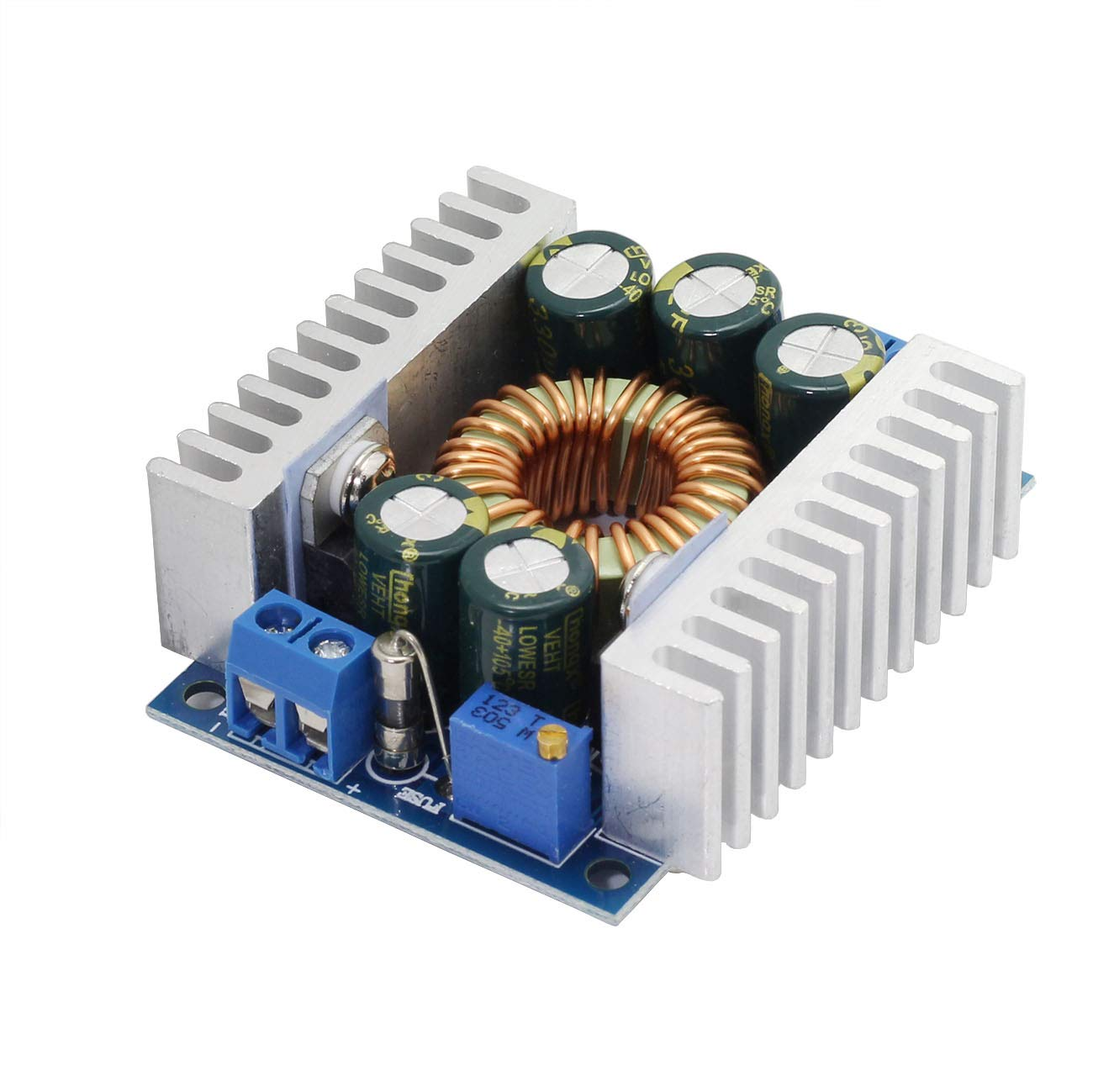 Zyamy 12a High Power Dc Buck Converter Adjustable Mode Supply A Low Frequency Frequencylow Step Down Module 45 30v To 12 Home Kitchen
