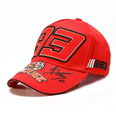Sophia Ant Embroidery 93 Hat F1 Racing Cap Gorra de béisbol Gorra ...