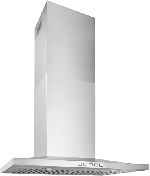 Broan Nutone Bws2304ss Convertible Wall Mount Led Lights Low Pyramidal Chimney Range Hood 30 Inch Stainless Steel Appliances