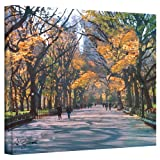 magnificent artistic wall art The Art Wall 24 by 32-Inch Central Park Wrapped Canvas by George Zucconi