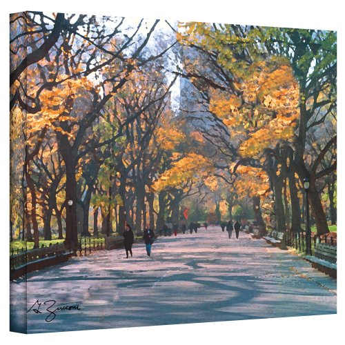 The Art Wall 24 by 32-Inch Central Park Wrapped Canvas by George Zucconi