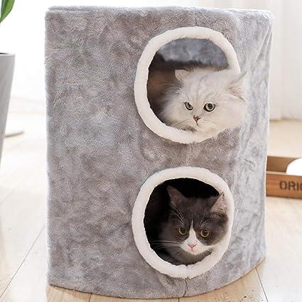 SLcco Marco de Escalada de Gato Doble Cuadrado Gato Grande ...