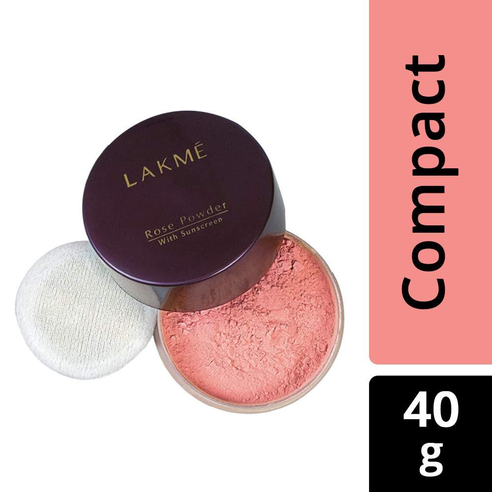 Lakme Rose Face Powder, Soft Pink, 40g product image