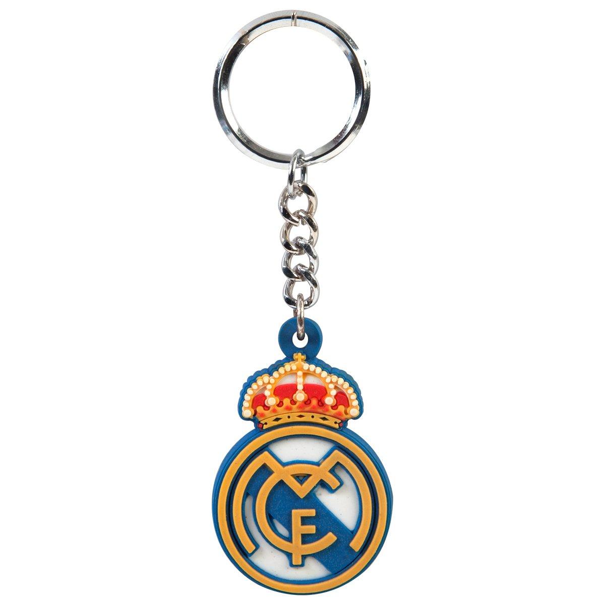 Real Madrid C.F. Escudo Real Madrid C. F. llavero RB: Amazon ...