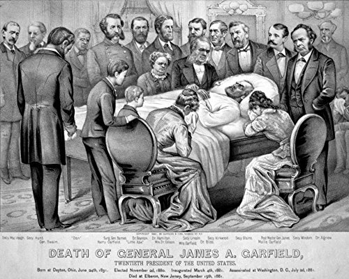 (Death of Garfield 1881 Poster Print by Science Source (36 x 24))