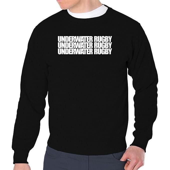 Eddany Underwater Rugby three words Sudadera: Amazon.es: Ropa y accesorios