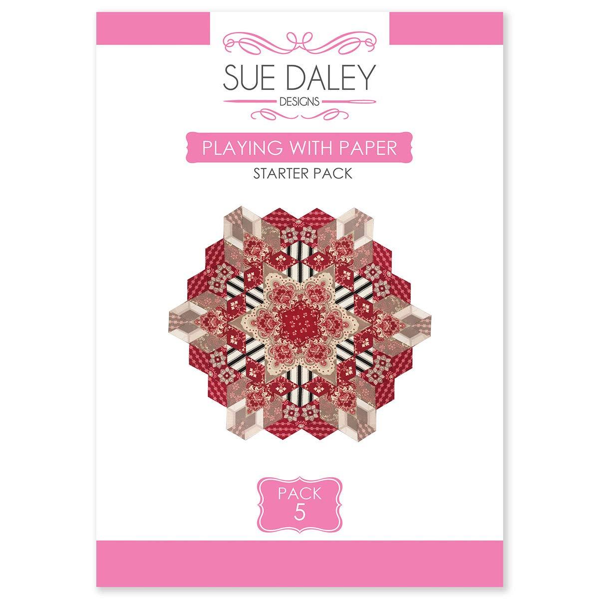 Sue Daley Designs 紙パック #5 EPP 英語のペーパーピース付き B07HP7YVNF