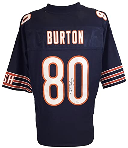 best website 2dd6f cc10c Trey Burton Signed Chicago Bears NFL Pro Line Replica Jersey ...