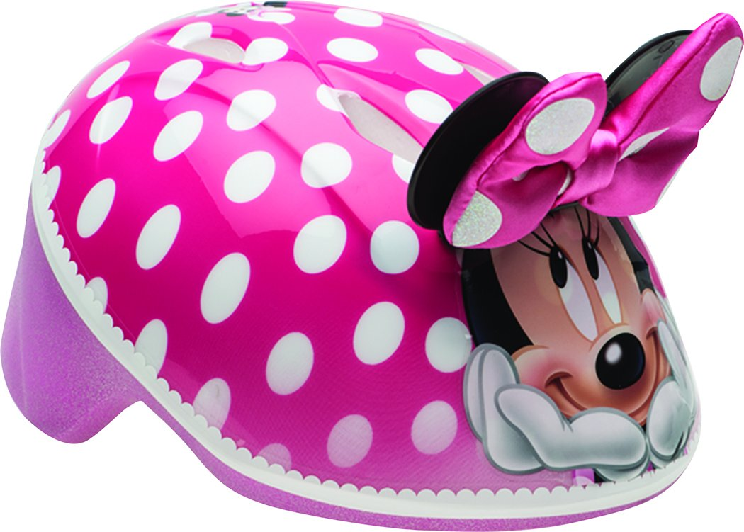 BELL Kids Toddler 3D Minnie Me Helmet, Multi Coloured, 48-52 cm 7080517