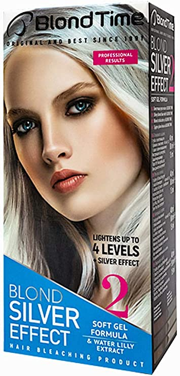 Blond time blond silver effect producto para el blanqueamiento del pelo: Amazon.es: Belleza