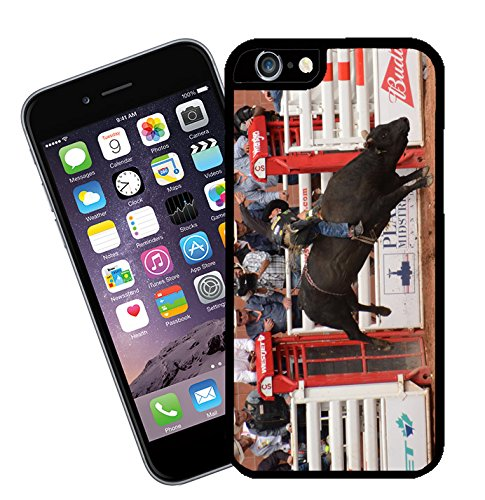 Bull Riding at Calgary Stampede in Canada 03 iPhone case - This cover will fit Apple model iPhone 6s (not 6 plus) - By Eclipse Gift Ideas