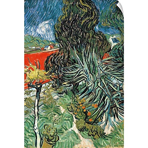 - CANVAS ON DEMAND Dr. Gachet's Garden at Auvers, by Vincent Van Gogh, 1890. Musee D'Orsay, Paris, France Wall Pee.